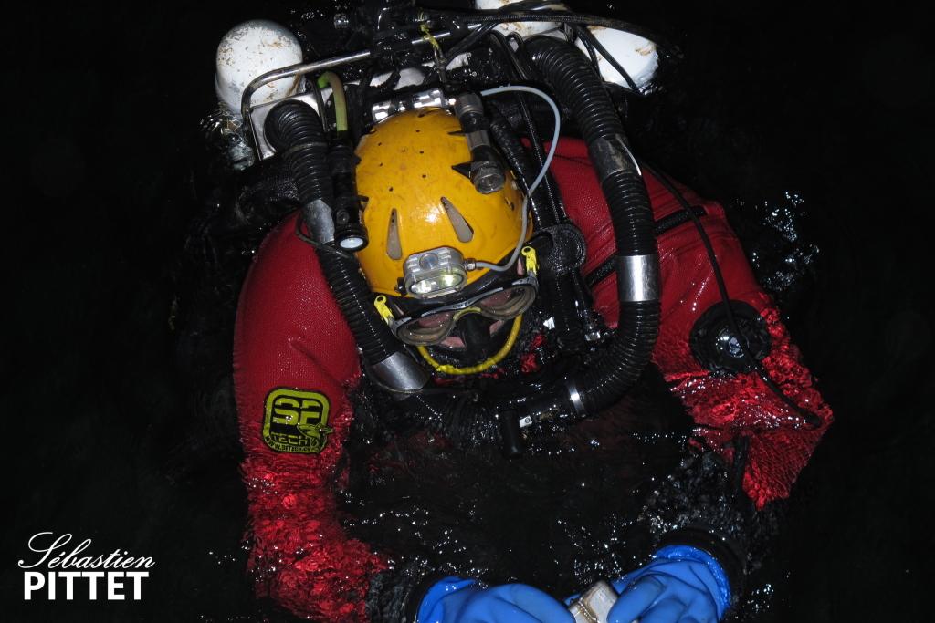Michaël Walz, le plongeur du jour