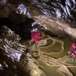 Manu, Galerie des Gours, Grottes de Vallorbe